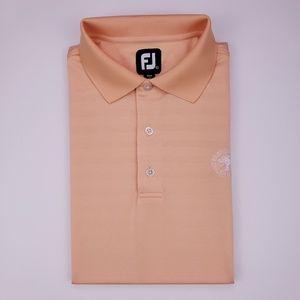 FootJoy Large Polo Shirt Peach Orange Brandermill